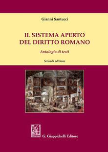 Premioquesti.it Il sistema aperto del diritto romano. Antologia di testi Image