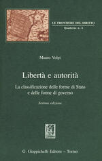 Libertà e autorità. La classificazione delle forme di Stato e delle forme di governo