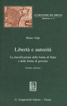 Antondemarirreguera.es Libertà e autorità. La classificazione delle forme di Stato e delle forme di governo Image