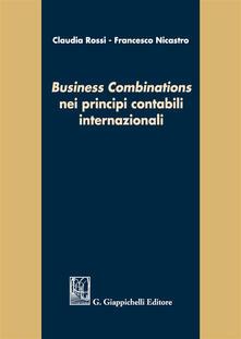Grandtoureventi.it «Business combinations» nei principi contabili internazionali Image