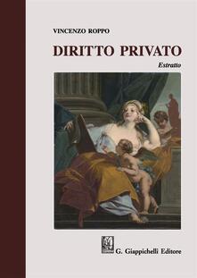 Capturtokyoedition.it Diritto privato. Estratto Image