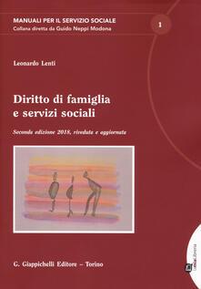 Fondazionesergioperlamusica.it Diritto di famiglia e servizi sociali. Con espansione online Image