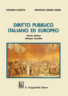 Grandtoureventi.it Diritto pubblico italiano ed europeo Image