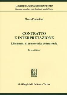 Tegliowinterrun.it Contratto e interpretazione. Lineamenti di ermeneutica contrattuale Image