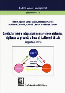 Aboutschuster.de Salute, farmaci e integratori in una visione sistemica: vigilanza su prodotti a base di isoflavoni di soia. Rapporto di ricerca Image