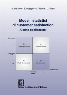 Rallydeicolliscaligeri.it Modelli statistici di customer satisfaction. Alcune applicazioni Image