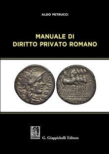 Manuale di diritto privato romano.pdf