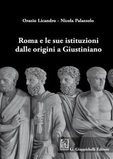 Tegliowinterrun.it Roma e le sue istituzioni dalle origini a Giustiniano Image