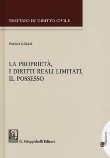 La proprietà, i diritti reali limitati, il possesso.pdf