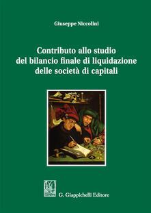 Equilibrifestival.it Contributo allo studio del bilancio finale di liquidazione delle società di capitali Image