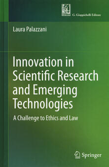 Vitalitart.it Innovation in scientific research and emerging technologies. A challenge to ethics and law Image