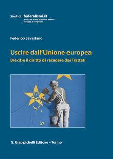 Daddyswing.es Uscire dall'Unione Europea. Brexit e il diritto di recedere dai Trattati Image