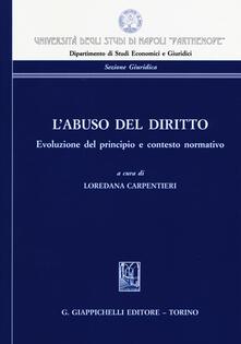 Mercatinidinataletorino.it L' abuso del diritto. Evoluzione del principio e contesto normativo Image