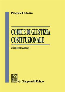 Osteriacasadimare.it Codice di giustizia costituzionale Image