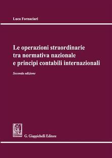 Listadelpopolo.it Le operazioni straordinarie tra normativa nazionale e principi contabili internazionali Image
