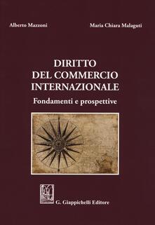 Camfeed.it Diritto del commercio internazionale. Fondamenti e prospettive Image