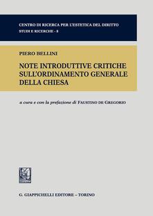 Note introduttive critiche sullordinamento generale della Chiesa.pdf