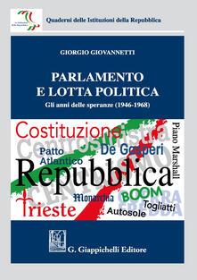 Camfeed.it Parlamento e lotta politica. Gli anni delle speranze (1946-1968) Image