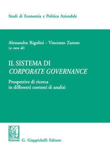 Listadelpopolo.it Il sistema di corporate governance. Prospettive di ricerca in differenti contesti di analisi Image