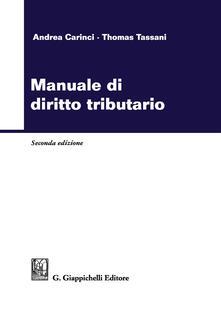Filippodegasperi.it Manuale di diritto tributario Image