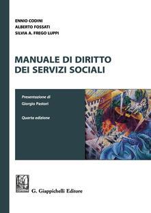 Promoartpalermo.it Manuale di diritto dei servizi sociali Image