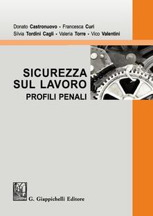 Sicurezza sul lavoro. Profili penali.pdf