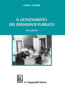 Il licenziamento del dipendente pubblico.pdf