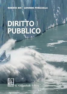 Diritto pubblico - Roberto Bin,Giovanni Pitruzzella - copertina