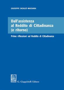 Dallassistenza al reddito di cittadinanza (e ritorno). Prime riflessioni sul reddito di cittadinanza.pdf