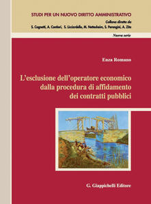 L esclusione delloperatore economico dalla procedura di affidamento dei contratti pubblici.pdf