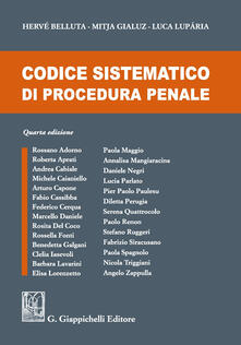 Ristorantezintonio.it Codice sistematico di procedura penale Image