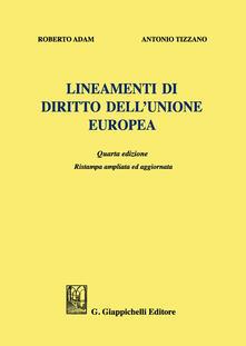 Winniearcher.com Lineamenti di diritto dell'Unione Europea. Ediz. ampliata Image