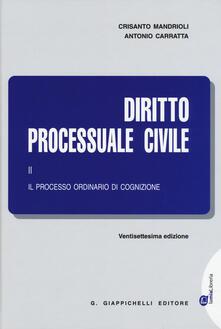 Listadelpopolo.it Diritto processuale civile. Vol. 2: Il processo ordinario di cognizione. Image