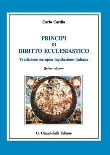 Principi di diritto ecclesiastico. Tradizione europea legislazione italiana.pdf