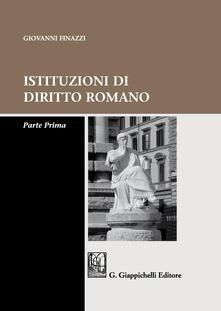 Grandtoureventi.it Istituzioni di diritto romano. Parte prima Image