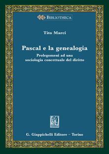 Ipabsantonioabatetrino.it Pascal e la genealogia. Prolegomeni ad una sociologia concettuale del diritto Image