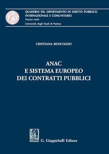 Ristorantezintonio.it ANAC e sistema europeo dei contratti pubblici Image