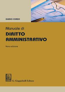 Filippodegasperi.it Manuale di diritto amministrativo Image