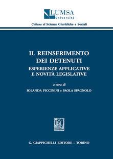Voluntariadobaleares2014.es Il reinserimento dei detenuti. Esperienze applicative e novità legislative Image