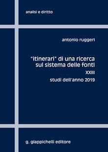 Radiospeed.it «Itinerari» di una ricerca sul sistema delle fonti. Vol. 23: Studi dell'anno 2019. Image