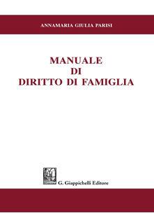 Grandtoureventi.it Manuale di diritto di famiglia Image