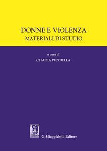 Promoartpalermo.it Donne e violenza. Materiale di studio Image