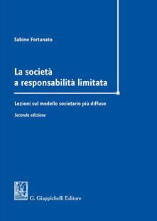 La società a responsabilità limitata. Lezioni sul modello societario più diffuso.pdf
