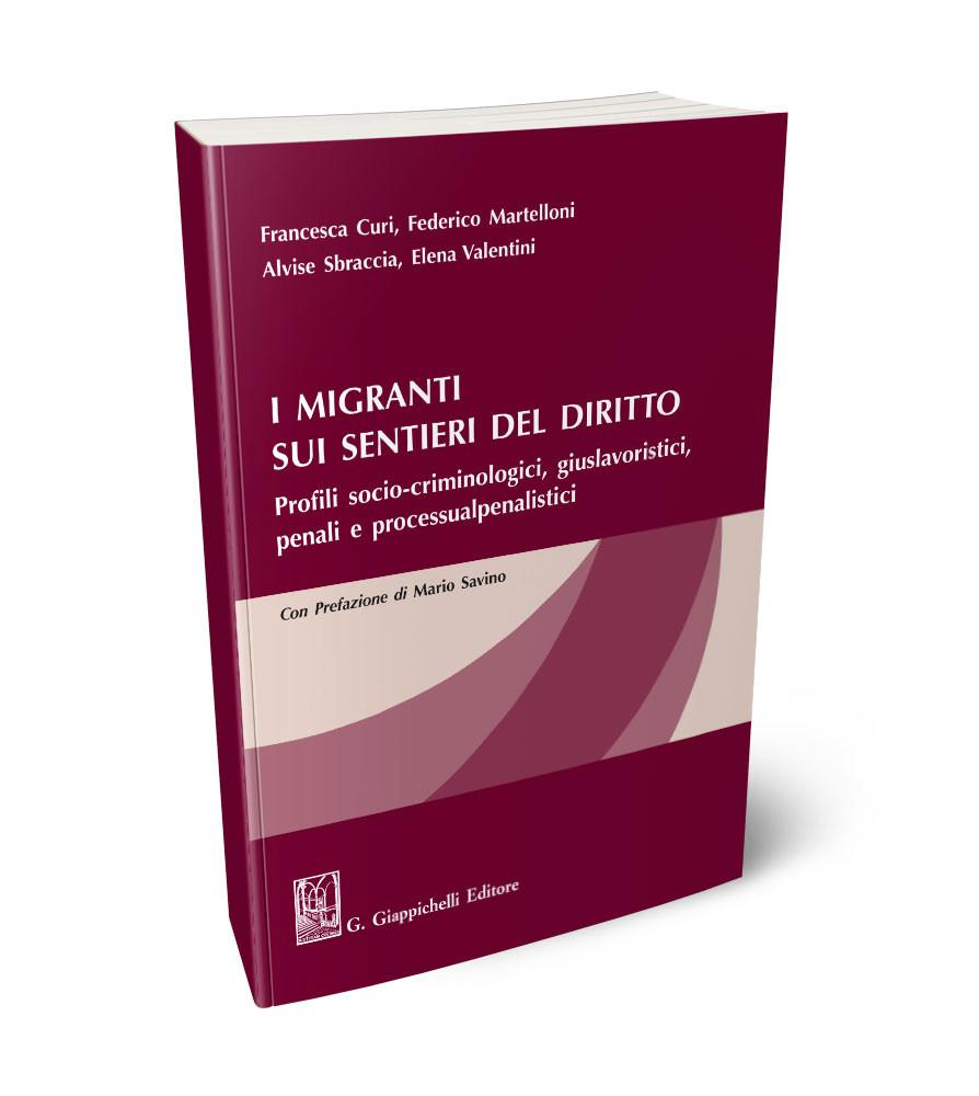 Image of I migranti sui sentieri del diritto. Profili socio-criminologici, giuslavoristici, penali e processualpenalistici