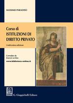 Corso di istituzioni di diritto privato
