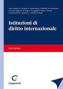 Libro Istituzioni di diritto internazionale
