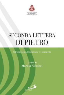 Ipabsantonioabatetrino.it Seconda lettera di Pietro. Introduzione, traduzione e commento Image
