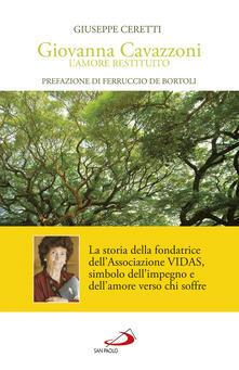 Giovanna Cavazzoni. Lamore restituito.pdf