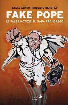 Voluntariadobaleares2014.es Fake Pope. Le false notizie su papa Francesco Image