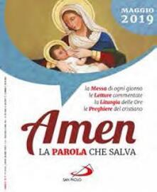 Secchiarapita.it Amen. La parola che salva. Maggio 2019 (2019) Image